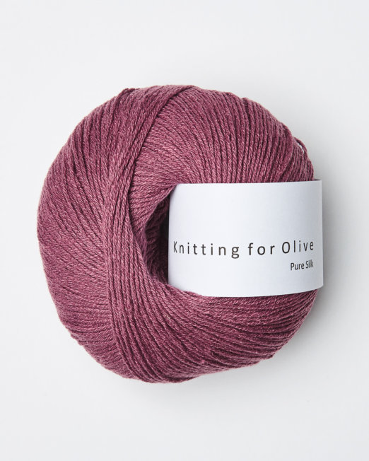 Knitting for Olive  Pure Silk Blomme