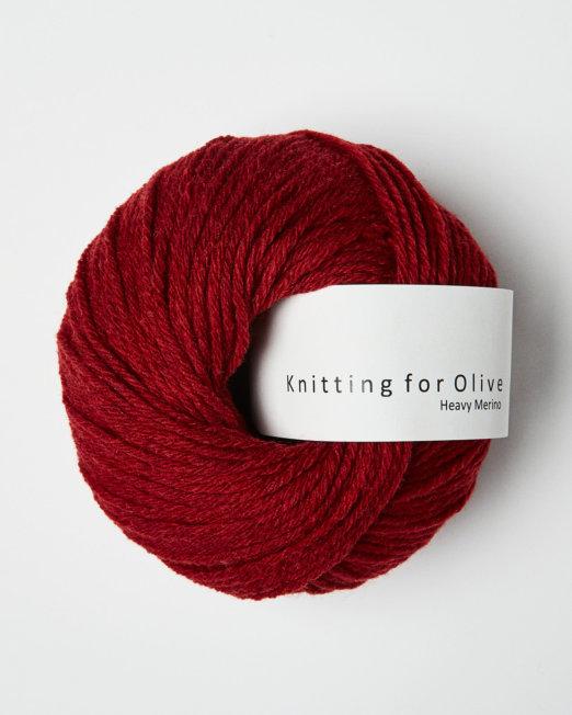 Knitting for Olives  Heavy Merino Cayenne
