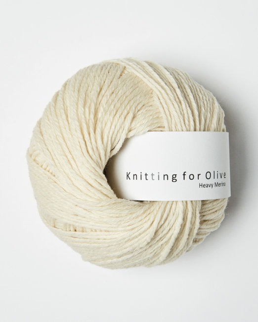 Knitting for Olives Heavy Merino Råhvid