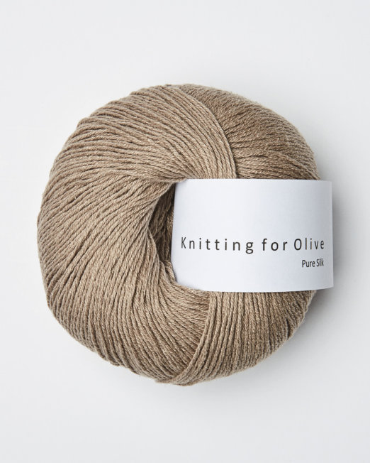 Knitting for Olive Pure Silk Kardemomme