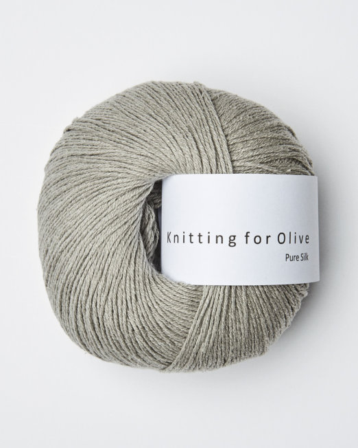 Knitting for Olive Pure Silke Lammeøre