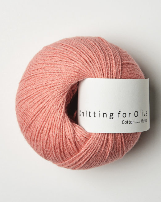 Knitting for Olives Cotton meets Merino – Koral
