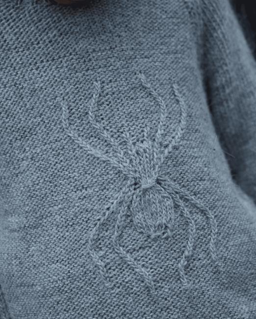 """Edderkopp Sweater """"Lille Petter Edderkopp"""""""