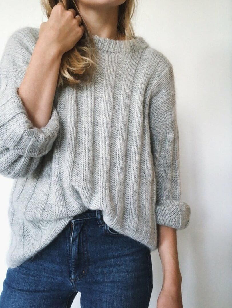 Big Ben genser | Heklenål, Striper, Alpakka