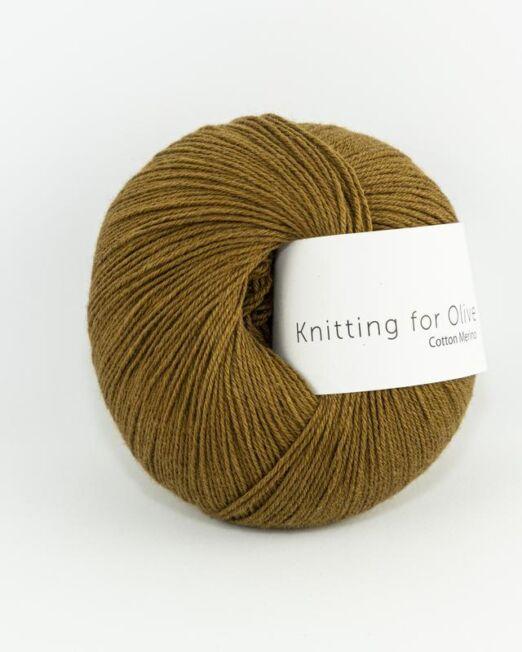 CottonMerino_okerbrun_knitting_for_olive_lofotstrikk